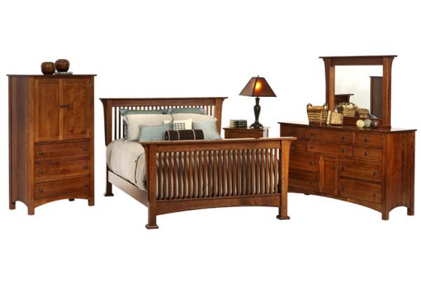heritage bedroom set, mission furniture, GenCraft Designs, furniture style preference quiz