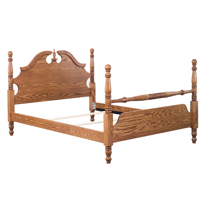 Heritage Cannonball Bed - Green Acres Furniture Ltd.