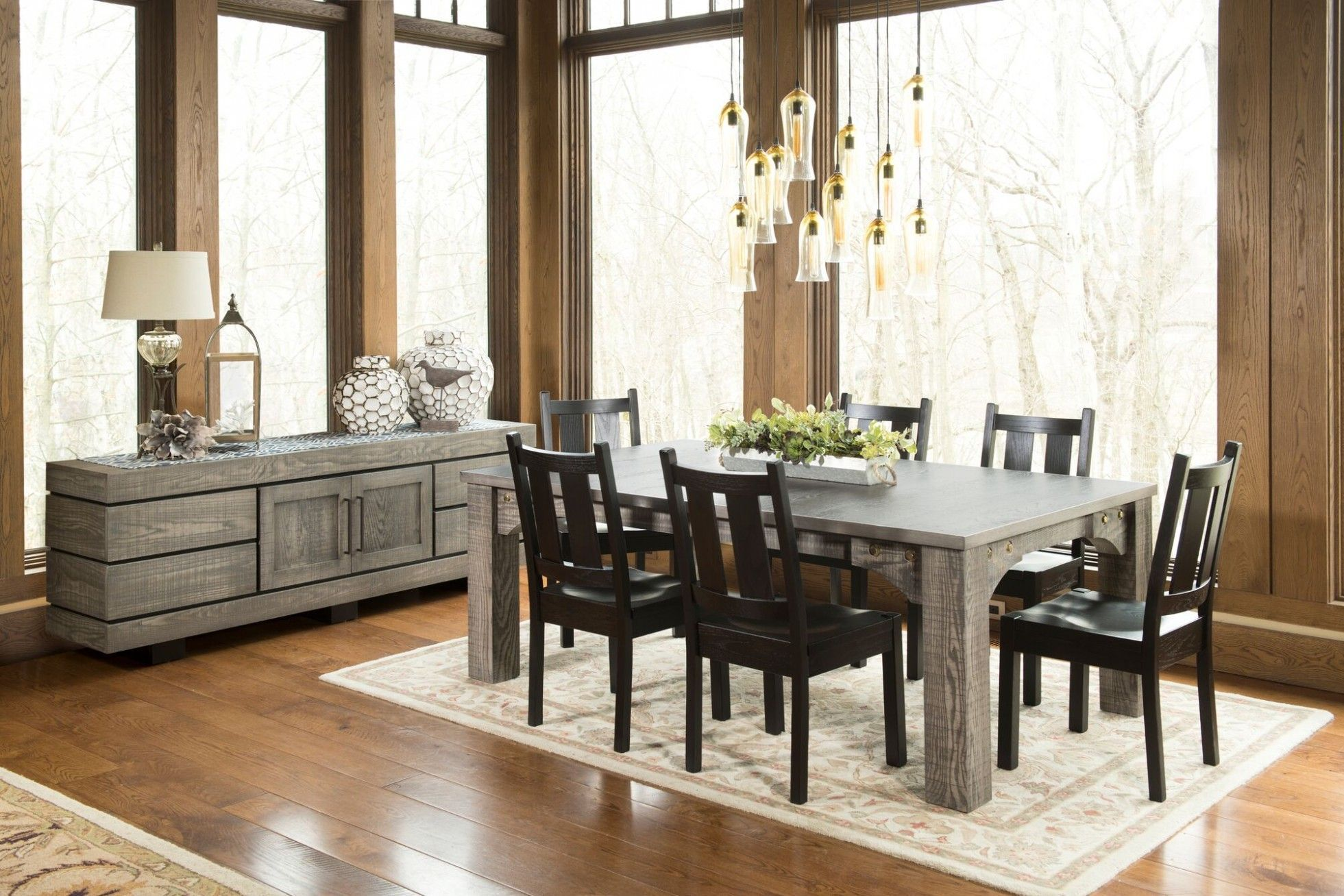 Branson Dining with Upholstered Chairs, Dining Set