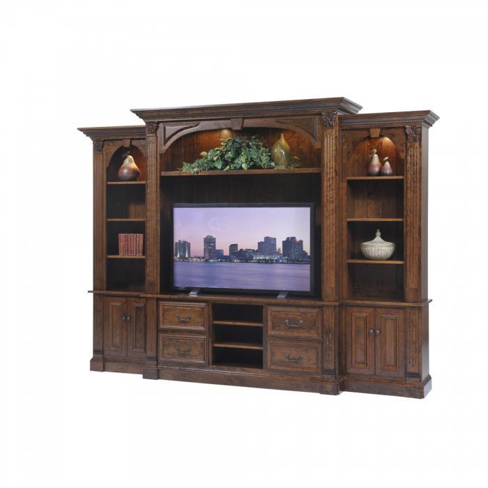 harbor media wall unit, art deco furniture, GenCraft Designs, furniture style preference quiz